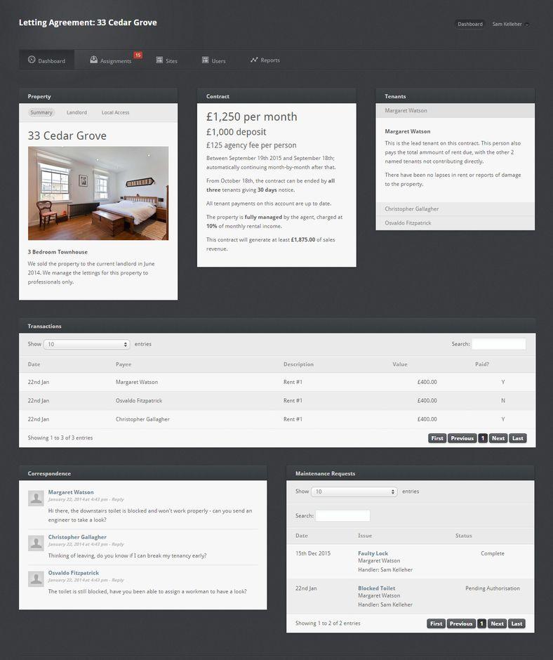 Estate Agent Management Platform
