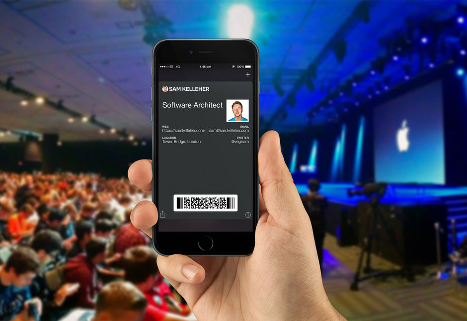 Dynamic iOS Passbook with notifications