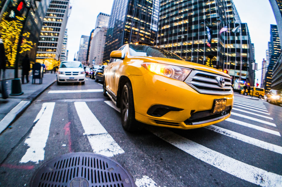 5th Ave Taxi Cab