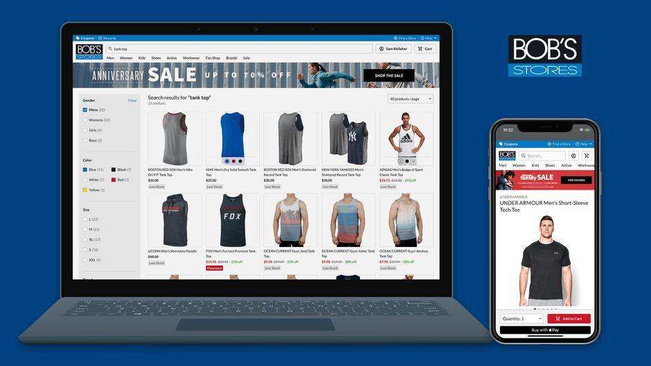React Isomorphic eCommerce Retail Experience