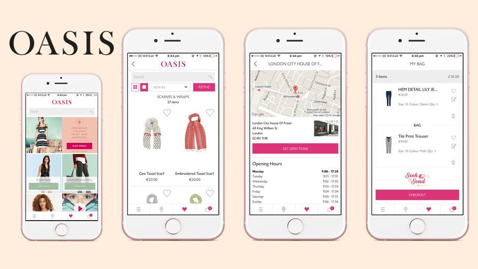 Fashion Retailer iOS App + Backend