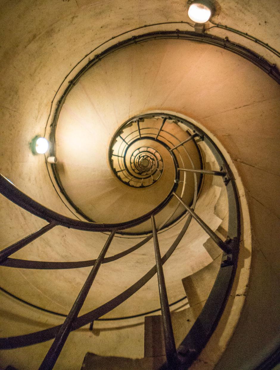 Arc de Triomphe Stairwell