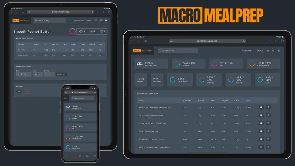 Macro MealPrep App